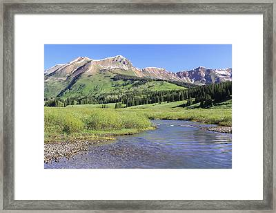 Verdant Valley Framed Print