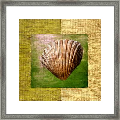 Verde Beach Framed Print