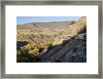 Verde Canyon Railway Landscape 2 Framed Print