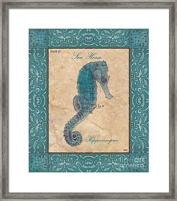 Verde Mare 3 Framed Print by Debbie DeWitt