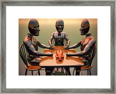 Framed Print featuring the digital art Verdict Of The Eldar Gods by John Alexander