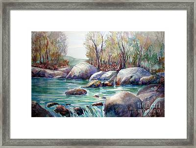 Verdon Gorge Framed Print