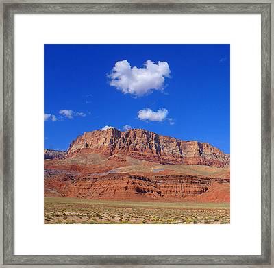 Vermillion Cliffs Framed Print