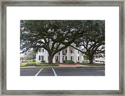 Vermillion Parish Courthouse Framed Print
