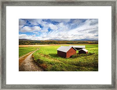 Vermont Country Framed Print by Robert Clifford