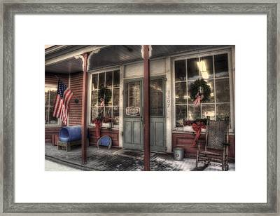 Vermont Country Store Framed Print by Joann Vitali