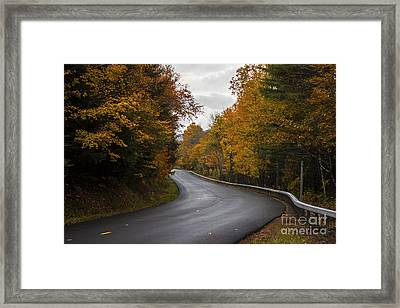 Vermont Fall Framed Print
