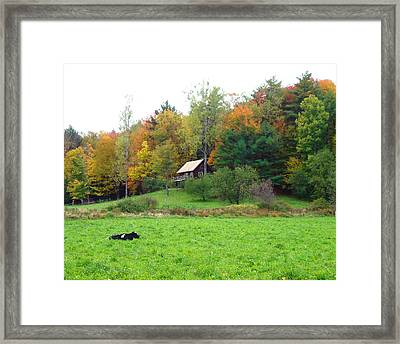 Vermont Ideal Framed Print