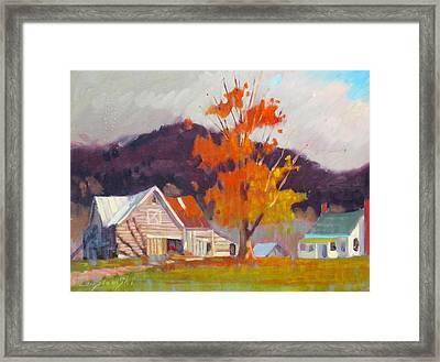 Vermont Framed Print