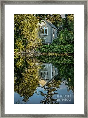Vermont Reflections Framed Print by Edward Fielding