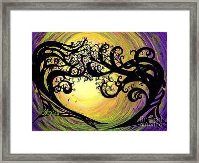 Vernal Equinox Framed Print by Janine Riley