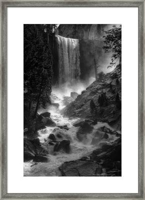 Vernal Falls Framed Print by Daniel Behm