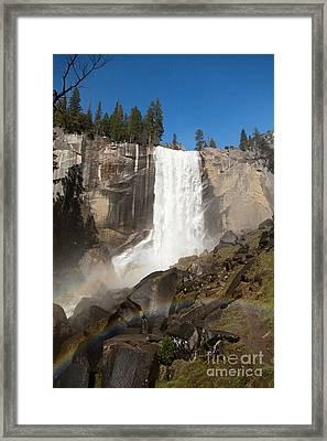 Vernal Falls Yosemite Framed Print