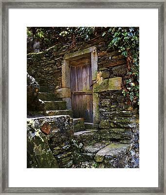 Vernassa Stone Stairway Framed Print