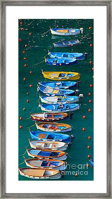 Vernazza Armada Framed Print by Inge Johnsson