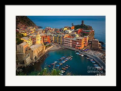 Harbour Framed Prints