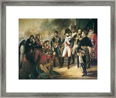 Vernet, Carle 1758-1836. Napoleon Framed Print