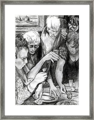 Vernisage Framed Print