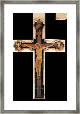 Verona Artist, Station Crucifix Crux Framed Print by Everett