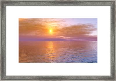 Verona Beach Framed Print by Mark Greenberg