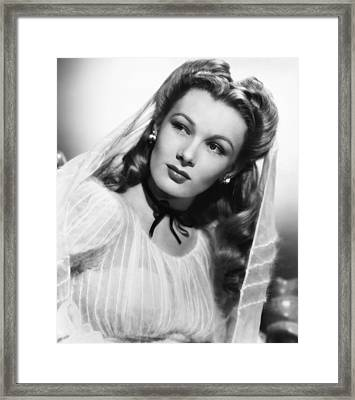 Veronica Lake, Ca. 1944 Framed Print