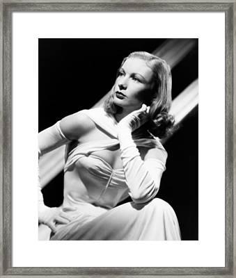 Veronica Lake, Ca. Mid-1940s Framed Print by Everett