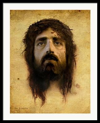 Religious Art Digital Art Framed Prints