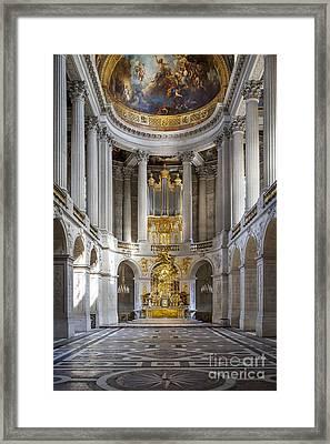 Versailles Chapel Framed Print by Brian Jannsen