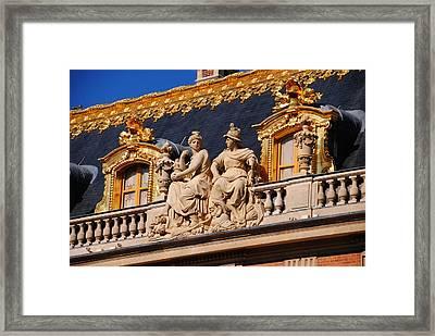 Versailles - Detail Framed Print by Jacqueline M Lewis