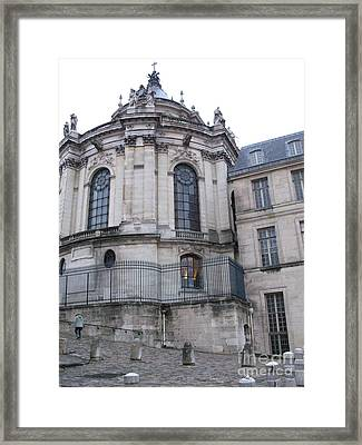 Versailles France Castles - Versailles Architecture Old Haunted Castle  Framed Print by Kathy Fornal