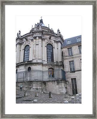 Versailles France Castles - Versailles Architecture Old Haunted Castle  Framed Print