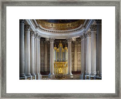 Versailles Organ Framed Print by Inge Johnsson