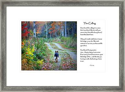Version Two The Calling Framed Print