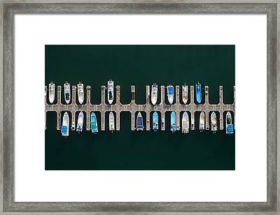 Vertical Alignment Framed Print by Shoayb Hesham Khattab