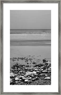 Vertical Beach I Framed Print by Pedro Fernandez