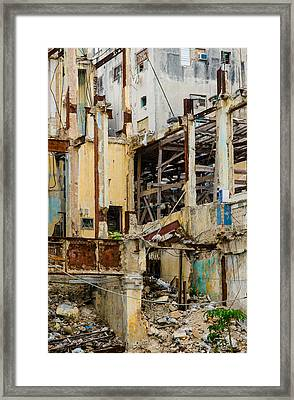 Vertical Void Havana Cuba Framed Print by Rob Huntley