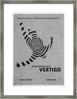 Vertigo Framed Print by Ayse Deniz