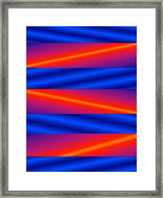 Framed Print featuring the digital art Vertigo by Gayle Price Thomas