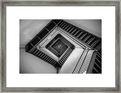 Vertigo Framed Print by Kristopher Schoenleber