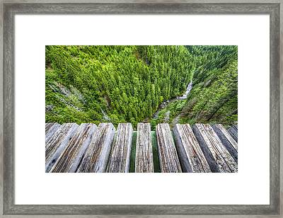 Vertigo Framed Print by Peter Irwindale