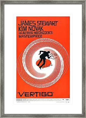 Vertigo, Poster Art, 1958 Framed Print