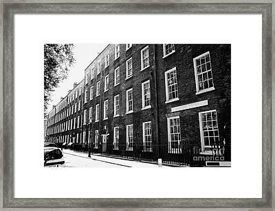 verulam buildings grays inn London England UK Framed Print by Joe Fox
