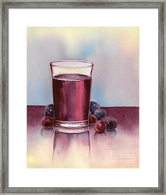 Very  Berry Framed Print by Nan Wright