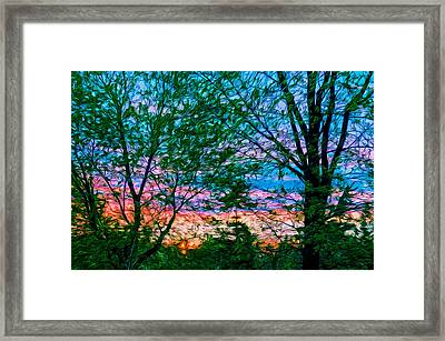 Very Early In The Morning Framed Print