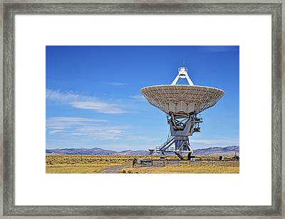 Very Large Array - Vla - Radio Telescopes Framed Print