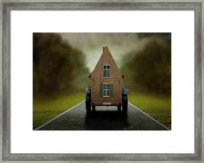 Very mobile Home Framed Print