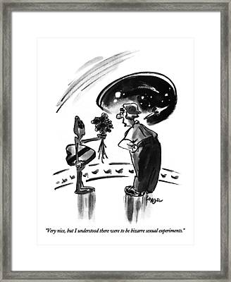 Very Nice, But I Understood Framed Print by Lee Lorenz