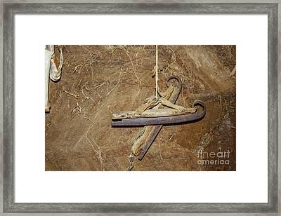Very Old Ice Skates Framed Print by Patricia Hofmeester