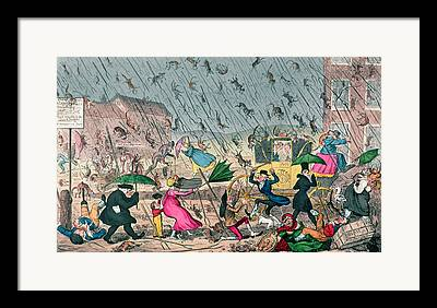 Cruikshank Framed Prints