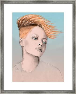 Vesa Framed Print by Jason Longstreet